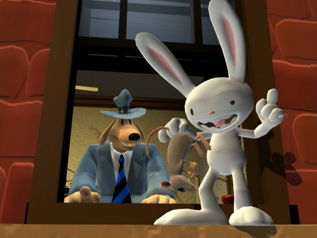 Comparación: cuánta luz en Sam & Max Save The World Remastered
