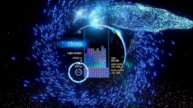 Tetris Effect: Connected - Espectáculo sensorial compartido