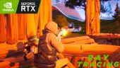 Fortnite - Gameplay con Ray Tracing, DLSS y Reflex