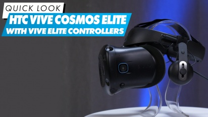 El Vistazo - HTC Vive Cosmos Elite with Vive Elite Controllers
