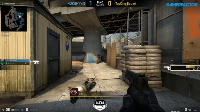 HyperX League 2v2 - NUKUHYVIN vs TapOne Esport on overpass