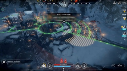Frostpunk: On The Edge Gameplay & Developer Commentary