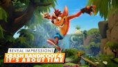 Crash Bandicoot: It's About Time - Primeras impresiones visuales